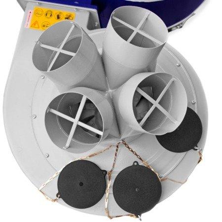DOSTAWA GRATIS! 02869797 Odciąg do wiórów (wydajność odsysania: 4560 m3/h, moc silnika: 3,8 kW)