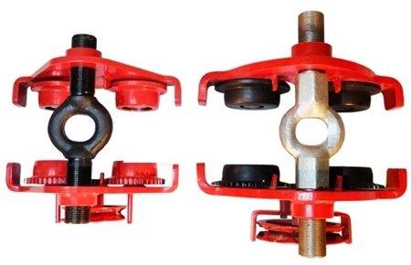 DOSTAWA GRATIS! 0301442 Wózek ręczny jezdny z łańcuszkiem i napędem (udźwig: 3,0 T, szerokość półki: 160-300mm)