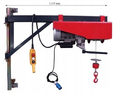 DOSTAWA GRATIS! 08169606 Ramie robocze do wyciągarki (udźwig: 300 kg)