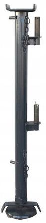 DOSTAWA GRATIS! 08172277 Wciągarka elektryczna linowa budowlana + Niski maszt + Ramie robocze (udźwig: 300 kg)