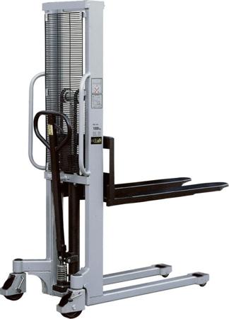 DOSTAWA GRATIS! 310504 Wózek podnośnikowy ręczny (maszt podwójny, udźwig: 1000 kg)