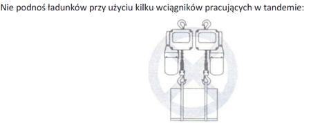 DOSTAWA GRATIS! 33938858 Wciągnik łańcuchowy elektryczny ELW 2 (udźwig: 2 T, wysokość podnoszenia: 3 m)