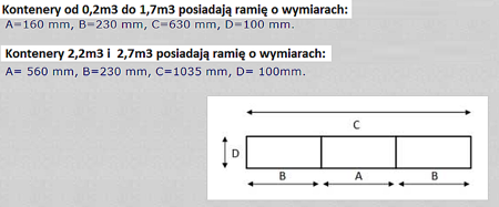 DOSTAWA GRATIS! 35960468 Kontener samowyładowczy z wysoką pokrywą do wózka widłowego (metry sześcienne: 2,7 m3, pojemność: 2050 L)