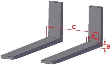 DOSTAWA GRATIS! 37769620 Kosz platforma robocza do wózka widłowego, ocynkowana (wymiary: 800x1200x1800 mm)