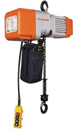 DOSTAWA GRATIS! 44372521 Wciągarka elektryczna + wózek jezdny elektryczny łańcuchowy (udźwig: 2T, maks. wys. podnoszenia: 6m)