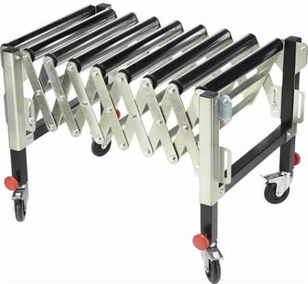 DOSTAWA GRATIS! 55872182 Samotok rolkowy nastawny (udźwig: 130 kg, długość: 500-1300 min./maks. wysokość: 620-950 mm)
