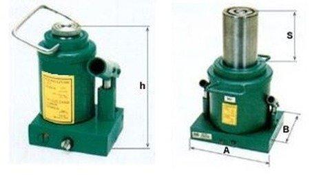 DOSTAWA GRATIS! 6276350 Podnośnik hydrauliczny jednotłokowy - niski (wysokość podnoszenia min/max: 200/360mm, udźwig: 30T)
