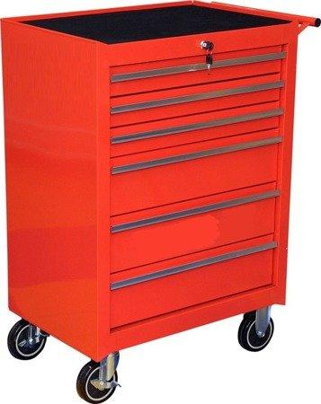 DOSTAWA GRATIS! 65669911 Wózek, szafka serwisowa, 6 szuflad (wymiary: 99,5x68x45,8 cm)