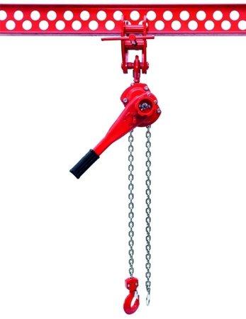 DOSTAWA GRATIS! 9588186 Wciągnik łańcuchowy dźwigniowy, rukcug, łańcuch Ogniwowy (udźwig: 3,2 T, wysokość podnoszenia: 1,5m)