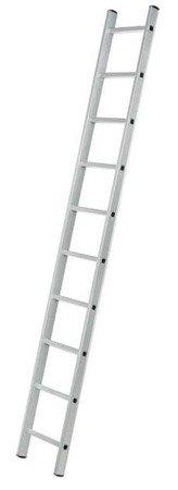DOSTAWA GRATIS! 99674710 Drabina aluminiowa przystawna 1x12 (wysokość robocza: 4,50m)