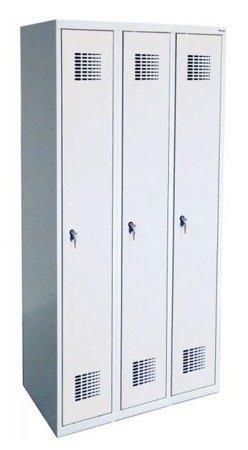Gorek Szafka ubraniowa 3 komory (wymiary: 1800x900x500 mm) 09276029