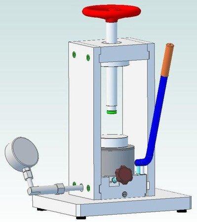 HYDIA Prasa laboratoryjna (max siła na tłoczysku - 20T) 61716535