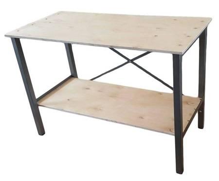 Iwarsz Stół warsztatowy narzędziowy stabilny wyk. profil (obciążenie: 150 kg, wymiary: 850x600x1250 mm) 18276598
