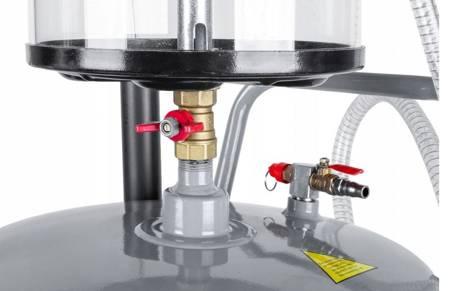 LETA Odsysarka zlewarka wysysarka do oleju (pojemność zbiornika: 85l, ciśnienie robocze: 6-8 Bar) 21777679