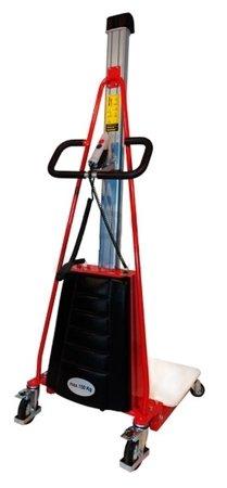 LIFERAIDA Wózek podnośnikowy elektryczny platformowy (udźwig: 150 kg, wymiary platformy: 470x600 mm, podnoszenie min/max: 130-1500 mm) 0301628