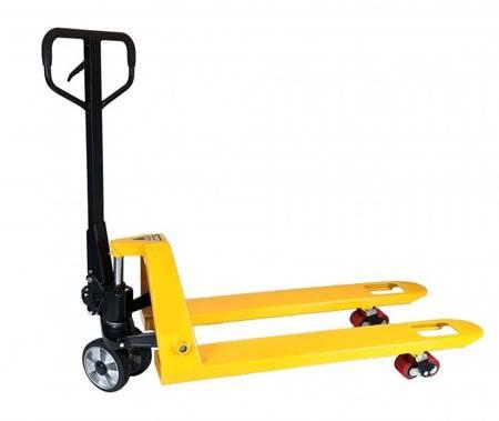 Paleciak, wózek paletowy magazynowy gumowe koła (udźwig: 2500 kg, długość wideł: 1150 mm) 85076131