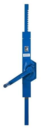 Podnośnik mechaniczny zębaty do kontenerów - wersja ścienna (udźwig: 2,5 T, wysokość: 850 mm) 22077076