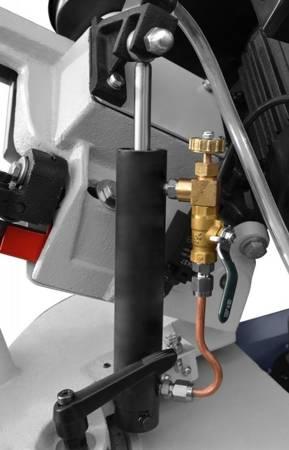 Przecinarka taśmowa 230V (rozmiar taśmy tnącej: 1640 x 13 x 0,65 mm, prędkość taśmy: 20 / 29 / 50 m/min, odchylenie ramy: -45° - 60°, moc silnika: 0,55 kW) 02876766