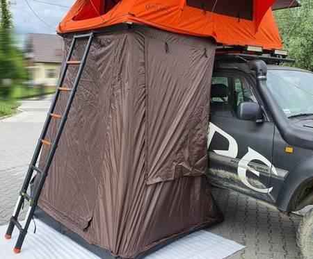 Przedsionek namiotu Alaska wersja krótka (rozmiar: 190 cm, kolor: pomarańczowy) 81877934