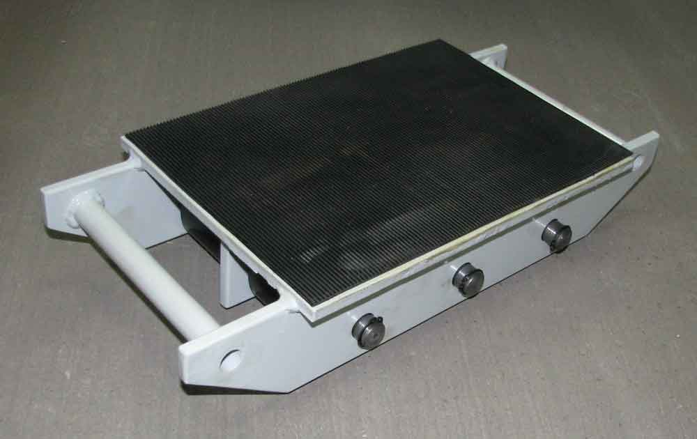 Stalmechon Wózek stały do transportu maszyn, urządzeń i sprzętu (rolki: 6x poliamid, nośność: 7 ton) 50276380
