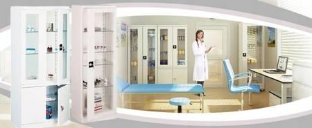 Szafer Szafa na leki lekarska medyczna (wymiary: 1800x800x435 mm) 15076468