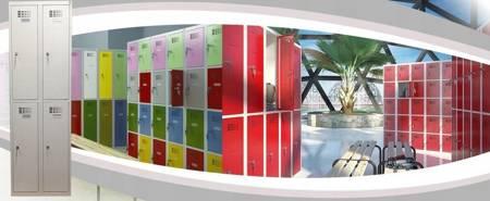 Szafer Szafka ubraniowa socjalna 2 komory (wymiary: 1800x300x500 mm) 15076445