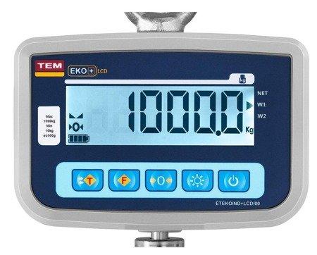Waga hakowa TEM 500 g - legalizacja (udźwig: 1000 kg) 45674862