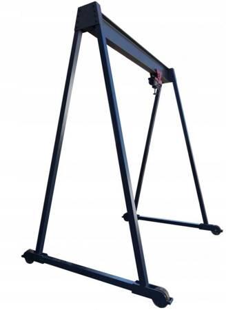 Wciągarka bramowa mobilna bez wciągarki (udźwig: 3 T, szerokość konstrukcji: 4020, wysokość kostrukcji: 2631) 22578124