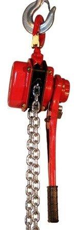 Wciągnik łańcuchowy ręczny dźwigniowy (udźwig: 3000 kg, długość łańcucha: 1,5m) 03076104