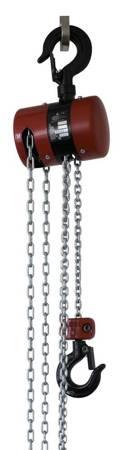 Wciągnik łańcuchowy z przekładnią planetarną - wersja przeciwwybuchowa (wysokość podnoszenia: 3m, udźwig: 1,6 T) 22077007