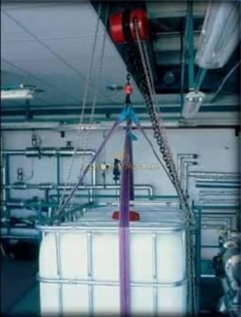 Wciągnik łańcuchowy z przekładnią planetarną (wysokość podnoszenia: 5m, udźwig: 3,2 T) 22076998