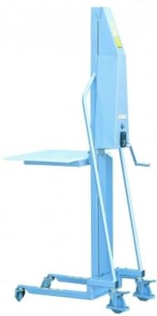 Wózek podnośnikowy (udźwig: 100 kg, wymiary wideł: 400x330x40 mm, wysokość podnoszenia min/max: 130-1500 mm) 310410