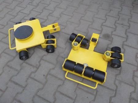Wózek uniwersalny, rolki: 12 x nylon/nylon (nośność: 7 T) 12277127