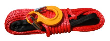 Wyciągarka Escape EVO 12000 lbs [5443 kg] EWB z liną syntetyczną 12V (lina: 10 mm czerwona dyneema 28m 10400kg +hak) 81877736