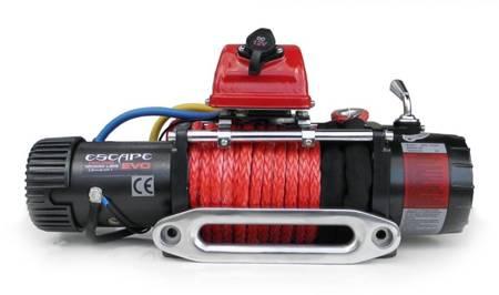 Wyciągarka Escape EVO 12000 lbs [5443 kg] EWX-S z liną syntetyczną 12V (lina: 10 mm czerwona dyneema 25m 10400kg +hak) 81877740