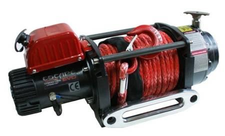 Wyciągarka Escape EVO 17500 lbs [7938kg] z liną syntetyczną 12V (lina: 10mm w oplocie z dużym hakiem 28m) 81877790