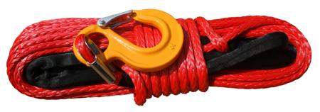 Wyciągarka KingOne TDS-12.0H 12000 lbs [5443kg] z liną syntetyczną 12V (lina: 10mm 28m czerwona 10400kg +hak) 81877882