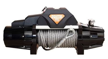 Wyciągarka Prime 13.0XE 13000lbs [5897kg] 12V (lina stalowa: 9,5mm 26m, kolor wyciągarki: czarny) 81877727