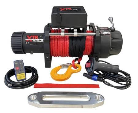Wyciągarka XTR 17000lbs [7718 kg] z liną syntetyczną 12V (lina: 12 mm 25m) 81877845