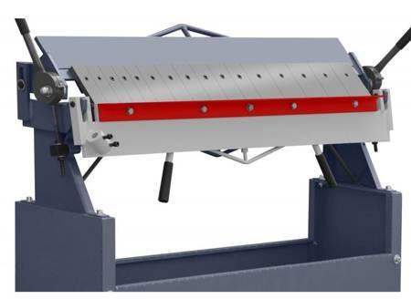 Zaginarka ręczna do blachy (szerokość robocza: 1220mm, maks. grubość blachy: 1,5mm) 02876763