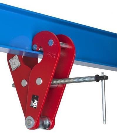Zawiesia klamrowe -sworzeń (max szerokość belki: 300 mm, udźwig: 3,2 T) 22077048